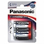 Батарейка Panasonic EVERYDAY POWER C BLI 2 ALKALINE (LR14REE/2BR)