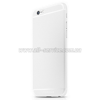 Чехол ITSKINS ZERO 360 for iPhone 6 White (APH6-ZR360-WITE)