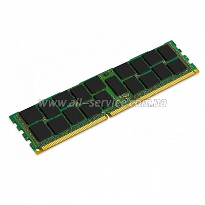 Память 16GB Kingston DDR3 1600Mhz REG Low Voltage (KTM-SX316LV/16G)
