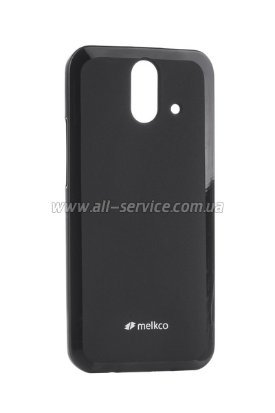 Чехол MELKCO HTC One E8 Poly Jacket TPU Black