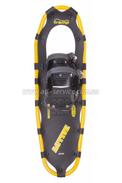 Cнегоступы Tramp Active XL черные (TRA-002)
