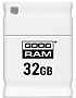 Флешка 32GB GOODRAM PICCOLO WHITE (6296704)