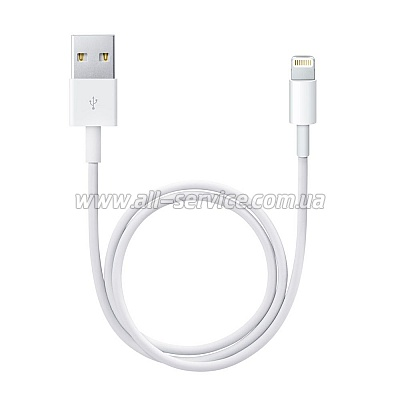 Кабель Apple Lightning to USB 2.0 (for iPod/ iPhone) (MD818ZM/A)