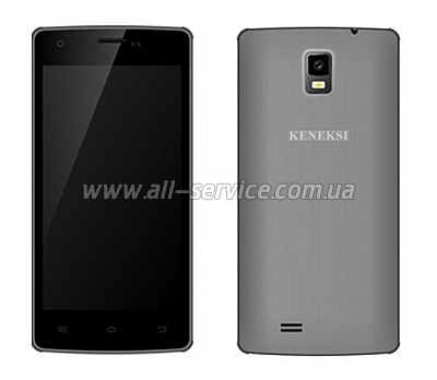 Смартфон KENEKSI Flash Dual Sim Gray