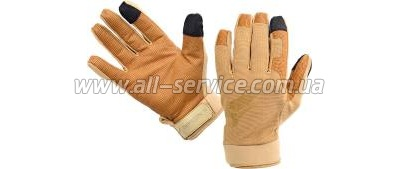 Перчатки Defcon 5 SHOOTING GLOVES WITH LEATHER PALM COYOTE TAN L coyote tan (D5-GLAV01 CT/L)