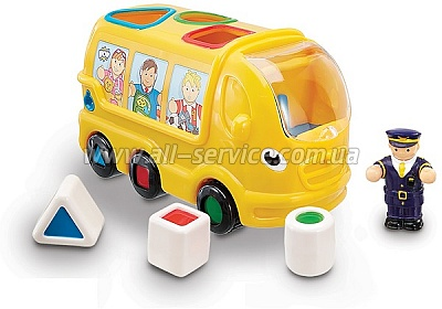 Игрушка WOW TOYS Sidney School Bus Школьный автобус Сидней (01010)