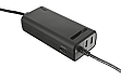 Блок питания TRUST Duo 70W Laptop charger with 2 USB ports (20877)
