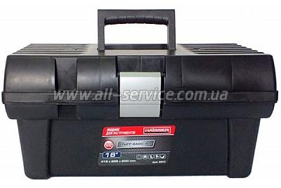 Ящик для инструментов 16 Staff Basic Alu Haisser 90012 (5901238221500)