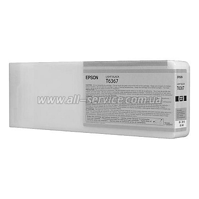 Картридж Epson StPro 7900/ 9900 light black, 700 мл (C13T636700)