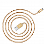 Кабель JUST Copper Micro USB Cable 1,2M Gold (MCR-CPR12-GLD)