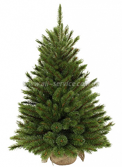 Искусственная сосна TriumphTree Edelman  Forest frosted зелена. 0.6м.