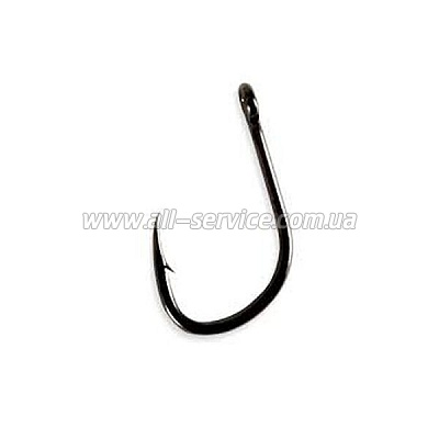 Крючок Lineaeffe KAPTURA BENT Pro Team Carp № 8 BLN (ушко) 10шт Made in Korea (7951308)