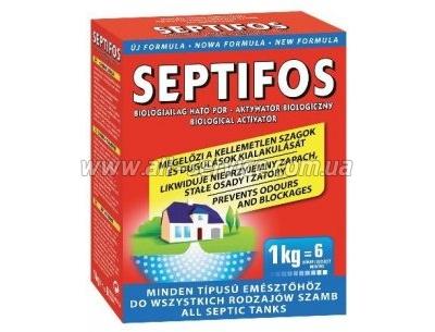 Порошок для выгребных ям 1кг Septifos (5999551691261)
