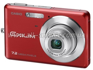 Цифровой фотоаппарат Casio Exilim EX-Z77 Red