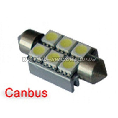 Габарит IDIAL 449 T10 6Led 5050 SMD CAN (2шт)