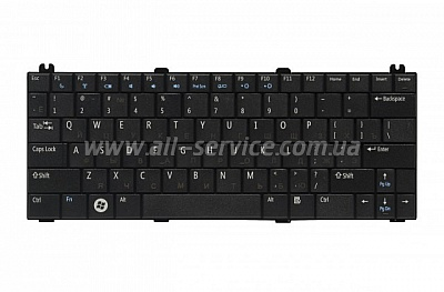 Клавиатура NB DELL Mini 12, Inspiron 1210 BLACK US (Н/З)
