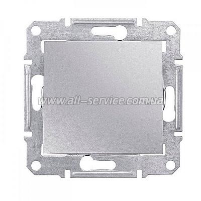 1-клавишный переключатель Schneider Electric Sedna 10A Алюминий (SDN0400160)