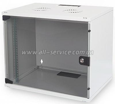 19 Шкаф DIGITUS 7U 540x400, серый (DN-1907U-S-1)
