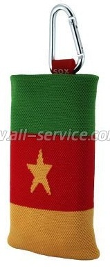 Чехол SOX EASY FLAG CAMEROON DOUBLE-SIDED (EF B/N 22)