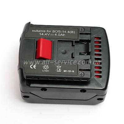 Аккумулятор PowerPlant для BOSH GD-BOS-14.4B 10.8V 4Ah Li-Ion (DV00PT0003)