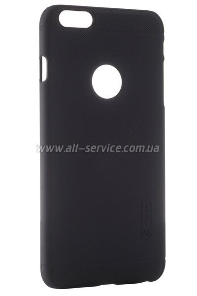 Чехол NILLKIN iPhone 6+ (5`5) - Super Frosted Shield (Black)