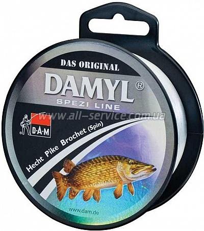 Леска DAM DAMYL Spezi Line Pike (SPIN) 0,30мм 400м 7,4кг (stone-grey) (3101030)
