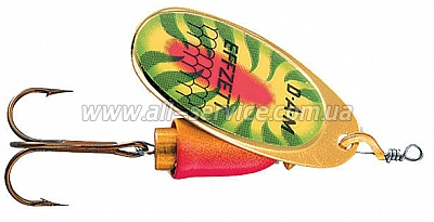 Блесна-вертушка DAM Effzett Executor 12гр (shark fire) (5127211)