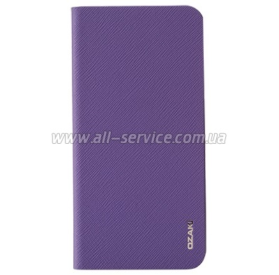 Чехол OZAKI O!coat-0.3+ Folio iPhone 6 Purple (OC558PU)
