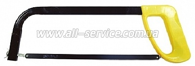 Ножовка по металлу с полотном 300мм, пластиковая рукоятка NONAME (HT-3302)