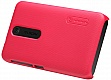 Чехол NILLKIN Nokia Asha 501 - Super Frosted Shield (Red)