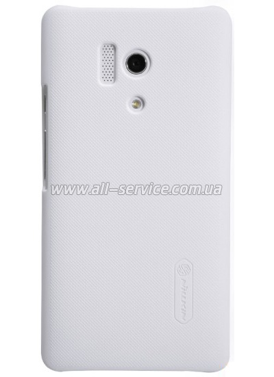 Чехол NILLKIN Huawei Honor III - Super Frosted Shield White