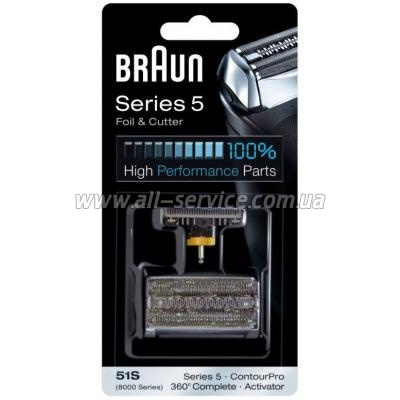 Бритвенная касета BRAUN 51S