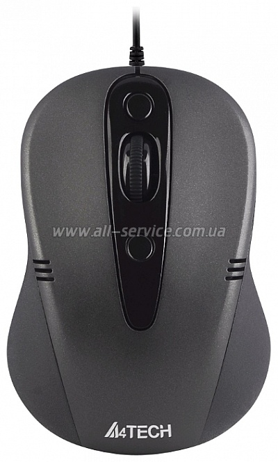 Мышь А4Tech N-370-1 black USB