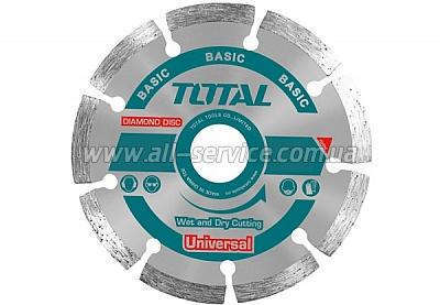 Алмазный диск TOTAL TAC2111153 115х22.2мм