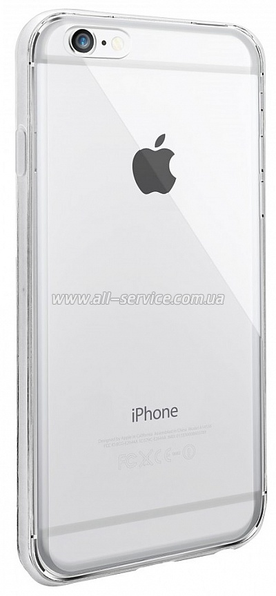Чехол OZAKI O!coat Hard Ctystal iPhone 6 Plus Transparent (OC594TR)