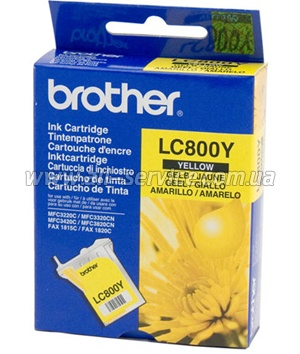 Картридж Brother MFC-3220/ 3420/ 3320/ 3820 yellow LC800Y