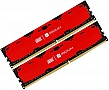 Память 16Gb GOODRAM DDR4 2400MHz Iridium Red 2x8GB (IR-R2400D464L15S/16GDC)