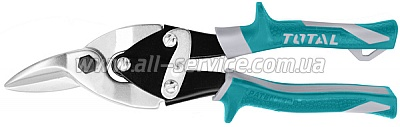 Ножницы по металлу правые TOTAL Aviation 250мм (THT523106)
