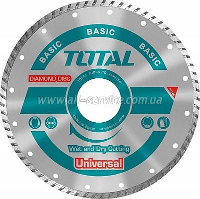 Алмазный диск TOTAL TAC2131153, 115х22.2мм
