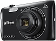 Цифровой фотоаппарат Nikon Coolpix A300 Black + Чехол + карта памяти SD 8Gb (VNA961K003)