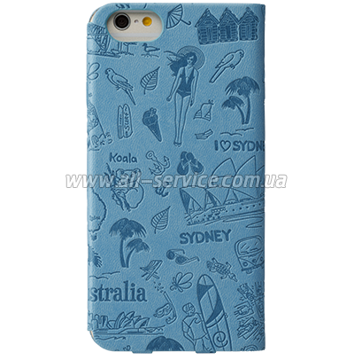 Чехол OZAKI O!coat Travel iPhone 6 Sydney (OC569SY)
