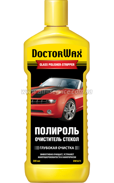 doctor wax Летняя жидкость стеклоомывателя Doctor Wax DW5673