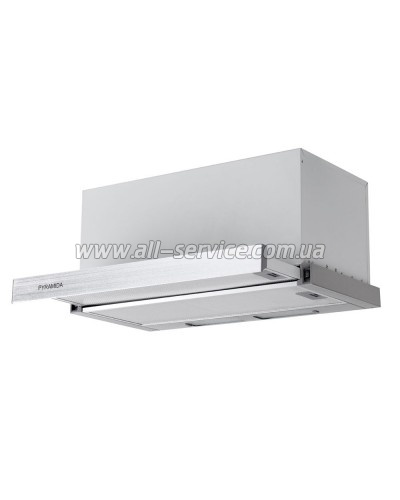 Вытяжка Pyramida TL FULL GLASS 60 1100 INOX WH/U