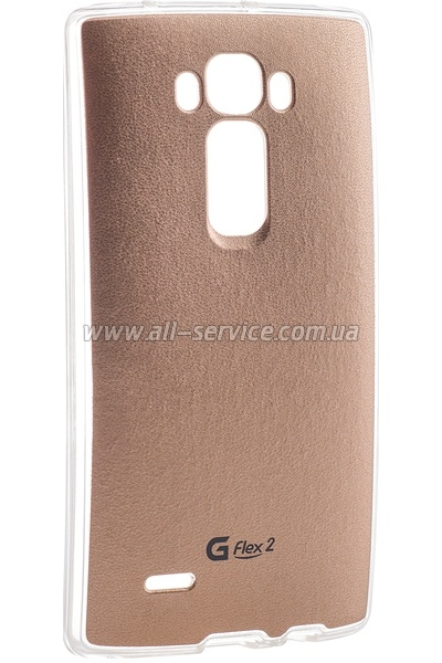 Чехол VOIA LG Optimus G Flex 2 - Jell Skin (Gold)