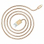 Кабель JUST Copper Lightning USB Cable 1,2M Gold (LGTNG-CPR12-GLD)