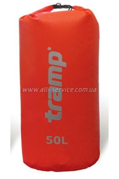 Гермомешок Tramp Nylon PVC 50 красный (TRA-103)