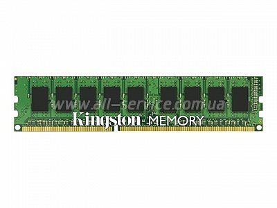 Память 8Gb Kingston DDR3 1600MHz ECC 1.35V (KVR16LE11/8)
