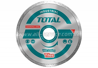 Алмазный диск TOTAL TAC2131253, 125х22.2мм