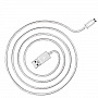 Кабель JUST Copper Micro USB Cable 1,2M Silver (MCR-CPR12-SLVR)
