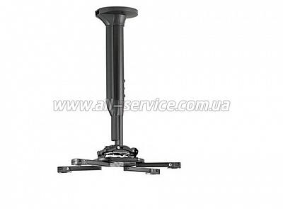 Крепление Chief для проектора, 30-45 см, черное (KITEC030045B)